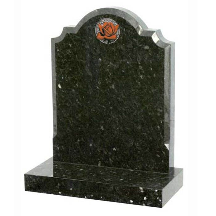 Cambrian Headstone in Emerald Pearl
